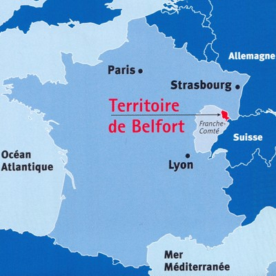 Carte Departement Villes France